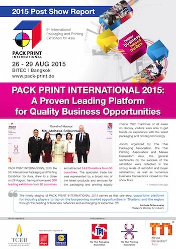 Informe feria Pack Print 2015